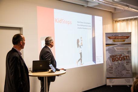 Präsentation von KidSteps