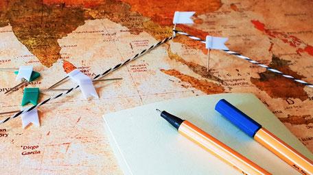 Vorbereitungen Weltreise