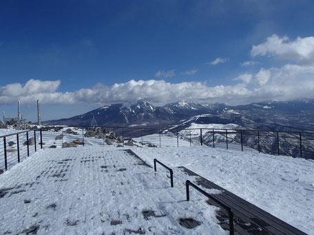 車山 スノーシュー 登山 ガイド