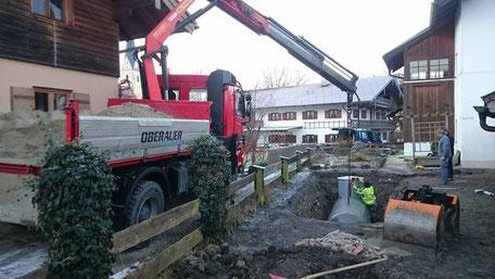 Oberauer Transportunternehmen und Baggerbetrieb, Nußdorf a. Inn