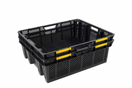 ostréiculture captage cagettes bacs plastiques mannes manutention transport coupelles capto