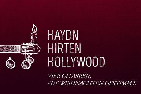Machado Quartett - Konzertprogramm Haydn Hirten Hollywood