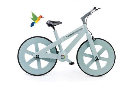 vélo cardboard