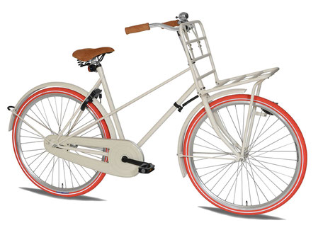 tulip bike blanc
