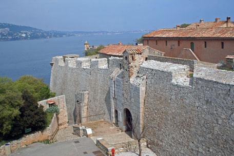 Fort Royale auf der Insel Sainte-Marguerite vor Cannes