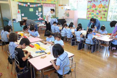 幼児のそろばん学習 たちばな幼稚園教室