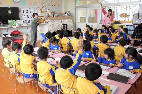 明光幼稚園のパチパチランド そろばん教室