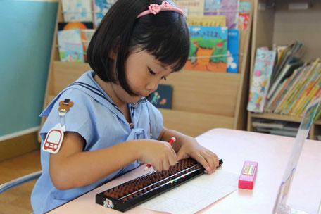 幼児 園児 そろばん たちばな幼稚園教室