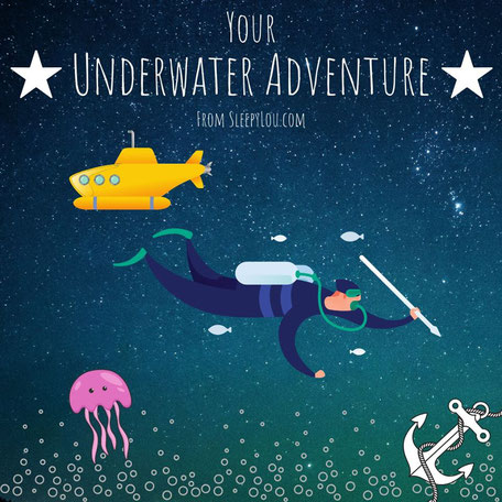 Underwater Adventure Part Three: Icebergs, robots, scubadiving and more! Discover the mystery is stranger than you thought! Both relaxing and adventurous at the same time. Length: 45 minutes (35 minutes story, plus 10 minutes sleep music)