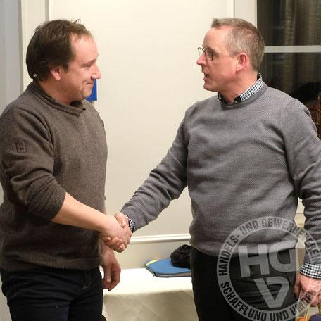 Oliver Faust verabschiedet Jan-Frie Brodersen