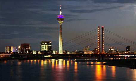 Düsseldorf-Skyline