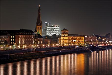 Duesseldorf-Rheinuferpromenade