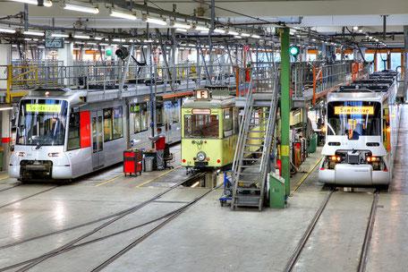 Rheinbahn in Duesseldorf