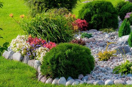 Blumenbeet Bepflanzung Garten
