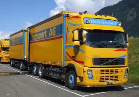 Heute bestellt, morgen geliefert ist möglich dank unser leistungsstarke Logistikpartner Wohlwend Transport AG