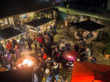 Weihnachtsessen findet dieses Jahr draussen statt - Weihnachtsfeier Outdoor 2020
