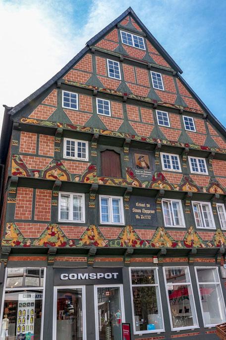 Das imposante Hoppener Haus in Celle