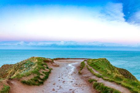 Urlaub mit Hund, Normandie, Etretat,