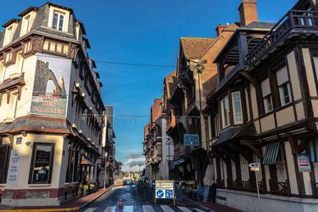 Innenstadt Etretat, normandie