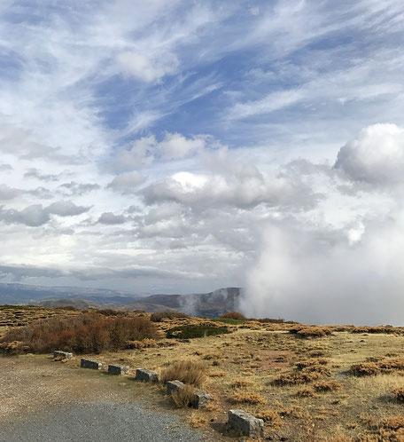 Leben im Wohnmobil, Sierra Nevada