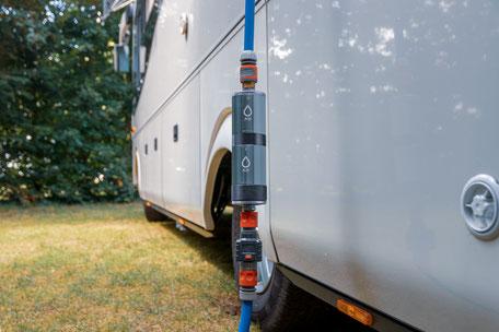 Wasserfilter fürs Wohnmobil, Wohnmobil Urlaub, Camping mit Hund, Urlaub mit Hund