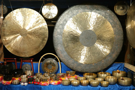 Klangarbeit mit Gong