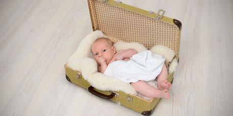 Babyfotos Hamburg - wir bieten Baby-Fotoshootings nach Ihren Wünschen