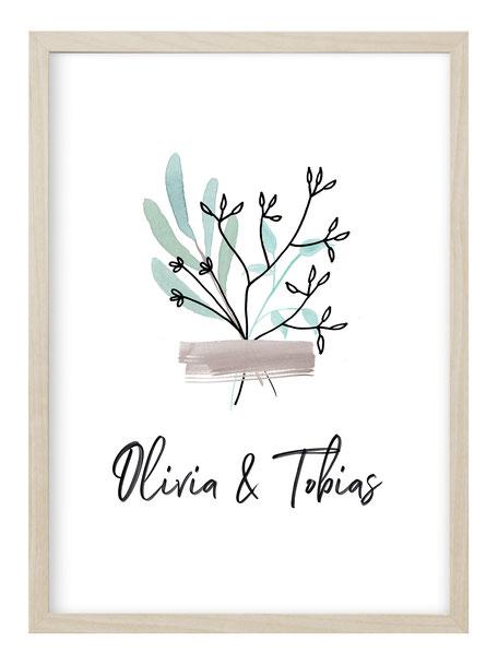 personalisierbare poster, personalisierte Geschenke, personalisierte Kunstdruck, Kunstdruck mit Namen, personalisierte Geschenke, geschenkidee Familie, Familien poster, poster mit Namen, poster Geburt, poster zur Hochzeit