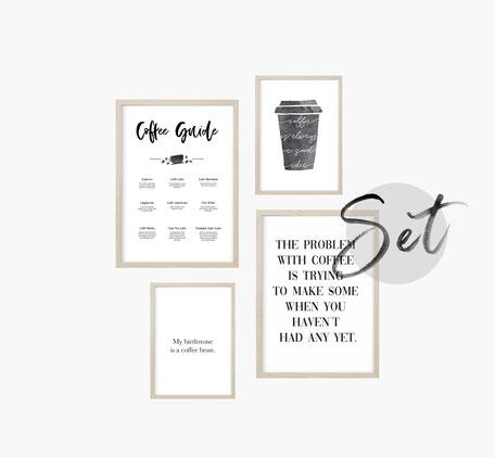 Kaffee Geschenkidee, Kaffeeliebhaber Geschenkidee, Kaffee Poster, Kaffee Print, Kaffee Kunstdruck, Kaffee Bild, Kaffee Wandbild