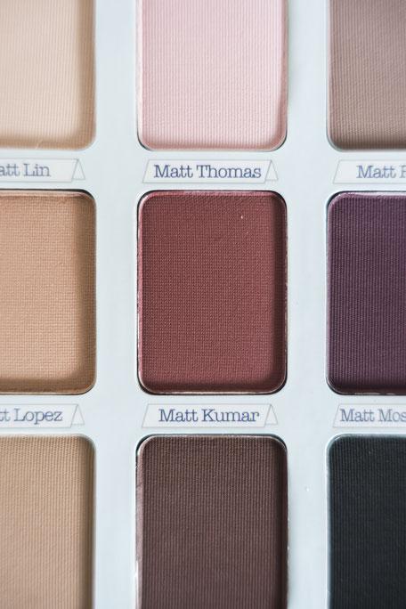 palette the balm matte avis