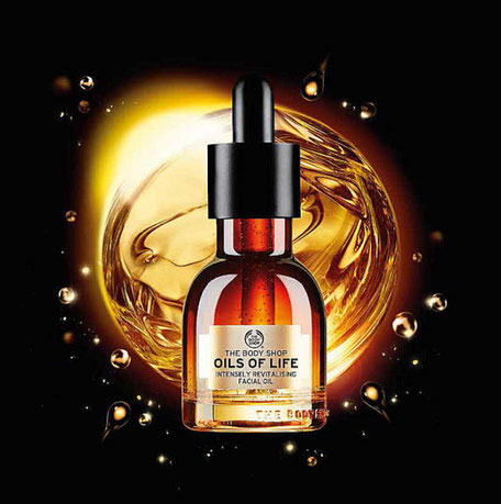 serum oils of life the body shop avis