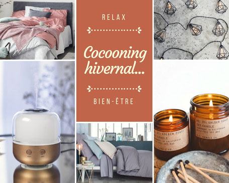 astuces cocooning hiver