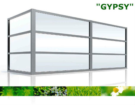 Windschutzwand Modell Gypsy