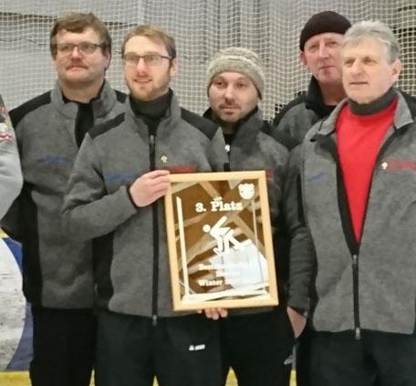 3. Platz Bezirksoberliga Winter 2017/18