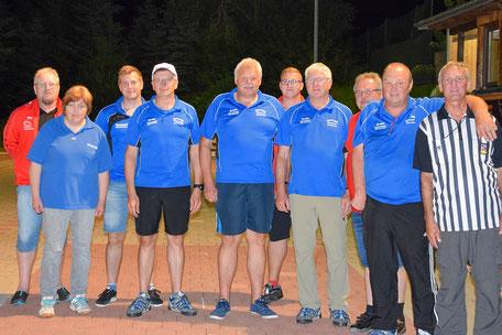 Siegerfoto Gruppe 1 - Sieger: SV Konzell
