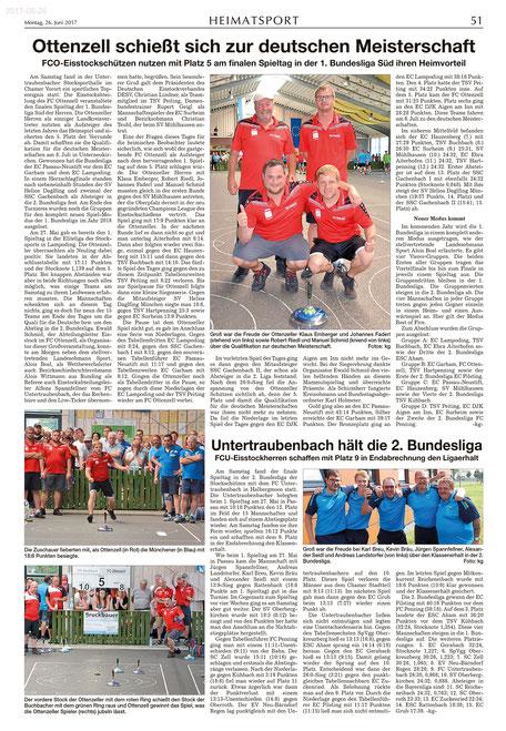Zeitungsartikel Kötztinger Zeitung (26.06.17)