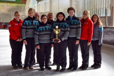 Siegerfoto Damenturnier des FC Ottenzell 2017
