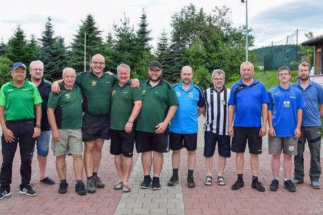 Siegerfoto Gruppe 2 - Sieger: SV Weichs