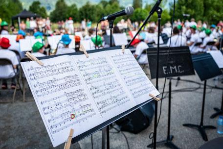 Ecole de musique EMC à Crolles - Grésivaudan : Partitions