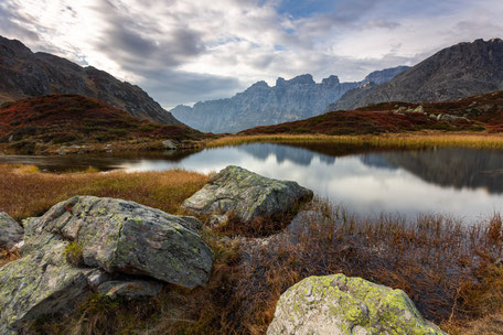 Landschaftsbilder von André Marti Bergsee in den Alpen