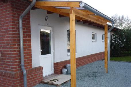 Mini-Appartement, Eingang außen - Foto: KÄPPLER FeWo, Stade - Sabine Käppler