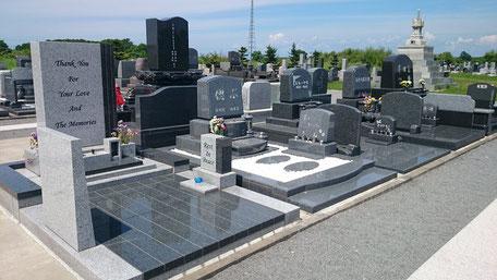 ペット墓所区画