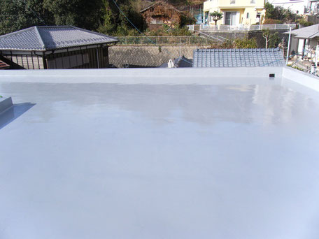 屋上防水(施工完了)