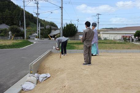四方祓いの儀(古賀市 Y様邸 新築工事)