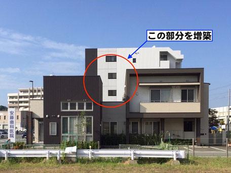 2階増築工事(施工前)
