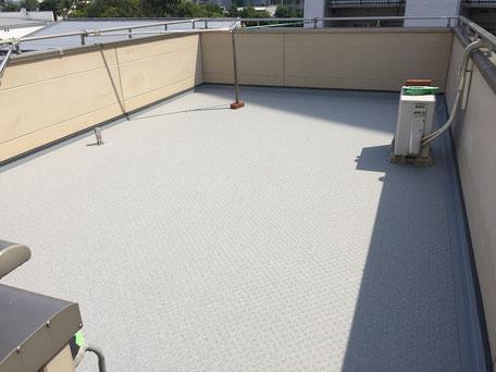 屋上防水改修工事(施工完了)