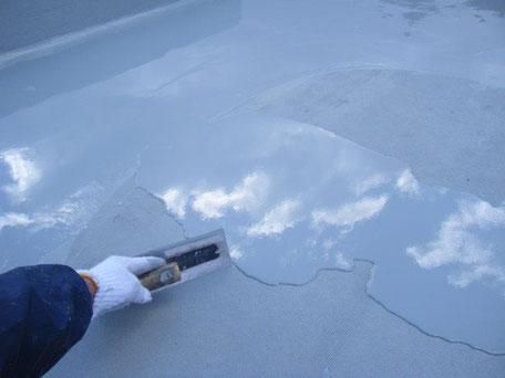 ウレタン防水材 塗布