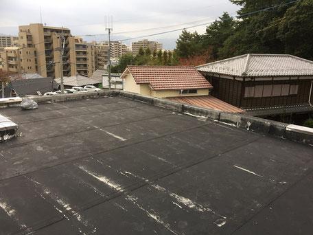 屋上防水工事(施工前)