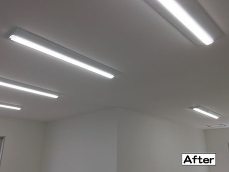 LED照明器具取り付け