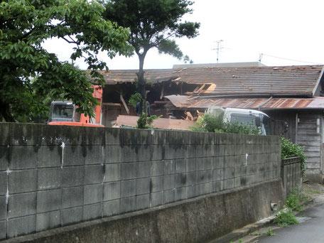既存住宅の解体工事